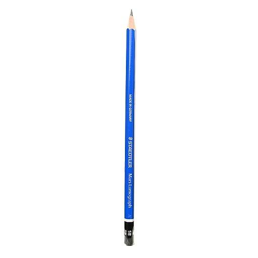 Staedtler Lumograph Pencils 5B [Pack of 12]