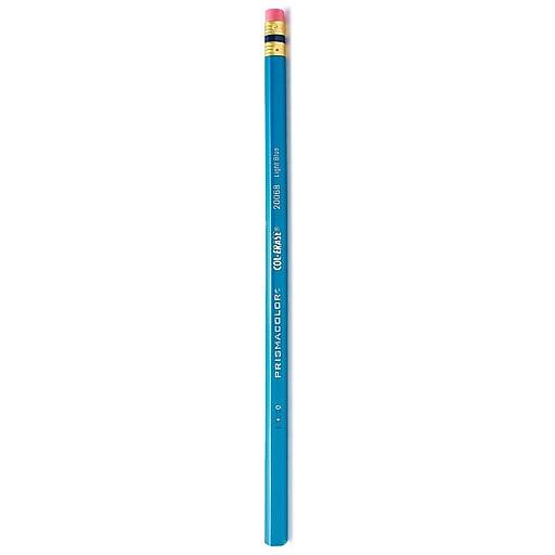 Prismacolor Col-Erase Colored Pencils, Light Blue, 24/Pack (33543-PK24)