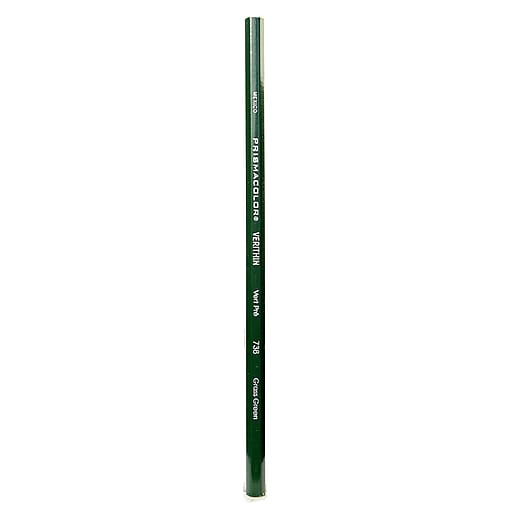 Prismacolor Verithin Colored Pencils grass green 738 [Pack of 24]