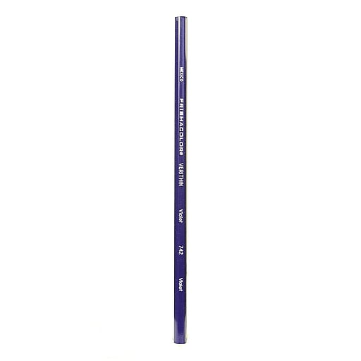 Prismacolor Verithin Colored Pencils violet 742 [Pack of 24]