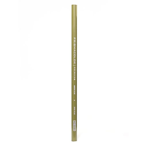 Prismacolor Premier Colored Pencils green ochre 1091 [Pack of 12]