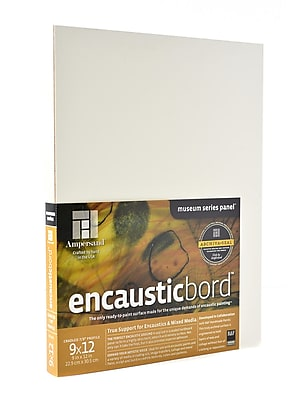 Ampersand Encausticbord 9 in. x 12 in. 7/8 in. each [Pack of 2]