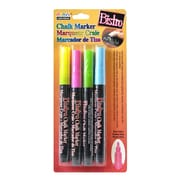 Marvy Uchida Bistro Chalk Marker Sets fine point fl. pink, fl. blue, fl. green, fl. yellow