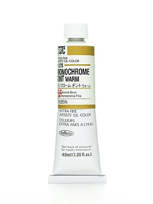 Holbein Artist Oil Colors monochrome warm 40 ml