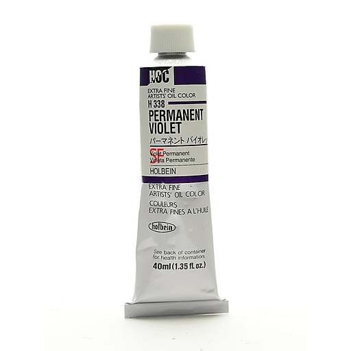 Holbein Artist Oil Colors permanent violet 40 ml