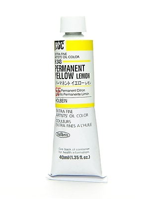 Holbein Artist Oil Colors permanent yellow lemon 40 ml
