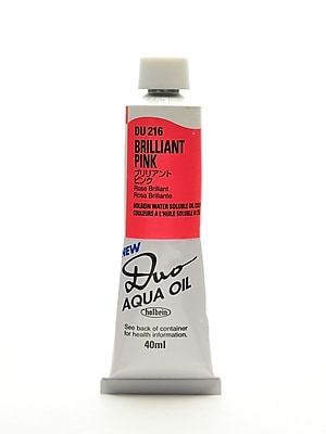 Holbein Duo Aqua Artist Oil Color brilliant pink 40 ml