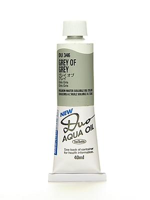 Holbein Duo Aqua Artist Oil Color grey of grey 40 ml
