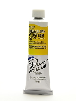 Holbein Duo Aqua Artist Oil Color imidazolone yellow light 40 ml