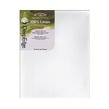 Winsor and Newton Artists' Deep Edge Linen Canvas