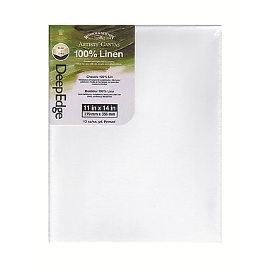Winsor and Newton Artists' Deep Edge Linen Canvas 11 in. x 14 in.