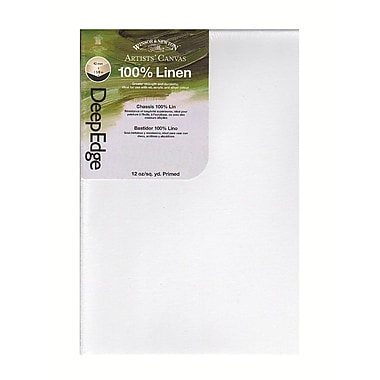 Winsor and Newton Artists' Deep Edge Linen Canvas 12 in. x 24 in.