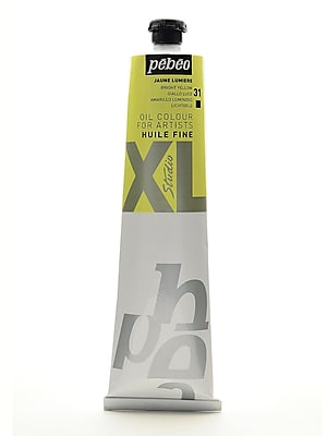 Pebeo Studio XL Oil Paint bright yellow 200 ml [Pack of 2]