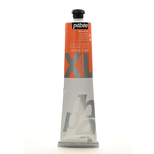 Pebeo Studio XL Oil Paint vivid orange 200 ml [Pack of 2]