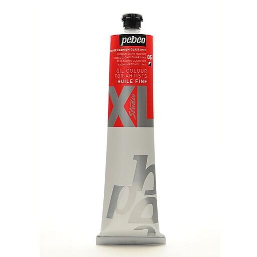 Pebeo Studio XL Oil Paint cadmium light red hue 200 ml [Pack of 2]
