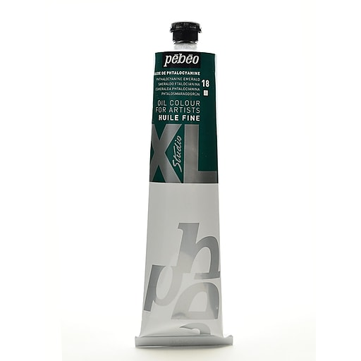 Pebeo Studio XL Oil Paint phthalo emerald 200 ml [Pack of 2]