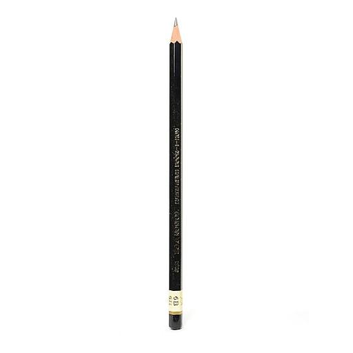 Koh-I-Noor Toison d'Or Graphite Pencils, 6B [Pack of 24]