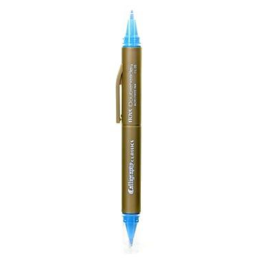 Itoya Doubleheader Calligraphy Marker aquamarine [Pack of 12]