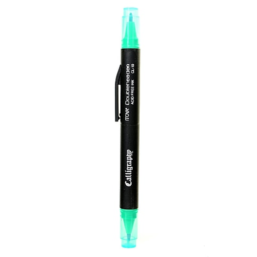 Itoya Doubleheader Calligraphy Marker green [Pack of 12]