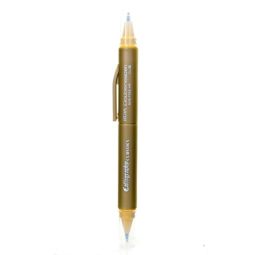 Itoya Doubleheader Calligraphy Marker dijon [Pack of 12]