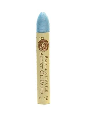 Sennelier Iridescent Oil Pastels, Transparent Blue no 123, 4/Pack (69391-PK4)