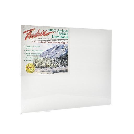 Fredrix Pro Series Archival Linen Canvas Boards 11 in. x 14 in.