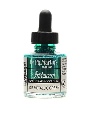 Dr. Ph. Martin's Iridescent Calligraphy Colors 1 oz Metallic Green 2/Pack (70021-PK2)