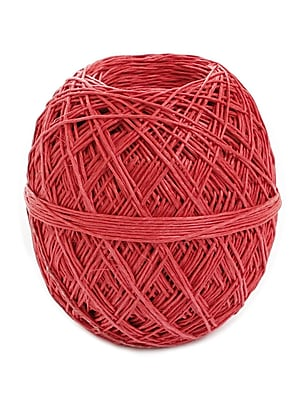 Toner Crafts Hemp Balls #20 400 Ft Red, 2/Pk