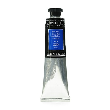 Sennelier Extra-Fine Artist Acryliques azure blue 320 60 ml [Pack of 2]
