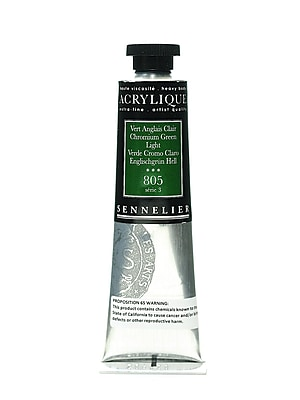 Sennelier Extra-Fine Artist Acryliques chromium green light 805 60 ml [Pack of 2]