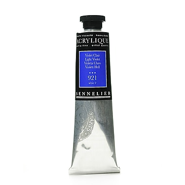 Sennelier Extra-Fine Artist Acryliques light violet 921 60 ml [Pack of 2]