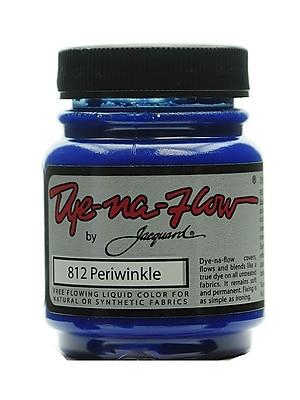 Jacquard 64259-PK4 Dye-Na-Flow Fabric Colors, Periwinkle, 2 1/4oz, 812, 4/Pack