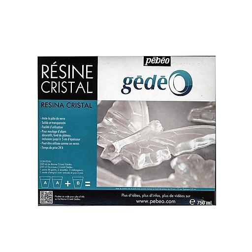 Pebeo 84102 Gedeo Crystal Resins, 750ml