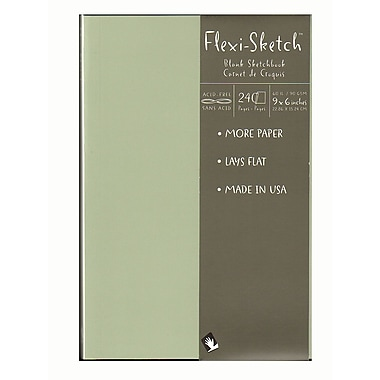 Global Art Flexi-Sketch Sketchbooks, Mist, 9