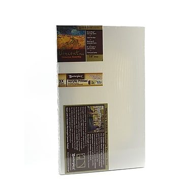 Masterpiece Artist Canvas Vincent Pro Stretched Cotton Canvas Golden Rectangle 8 in. x 13 in. each [Pack of 2]