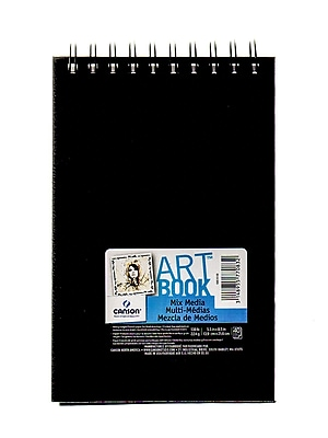 Canson Art Book All Media Watercolor Sketch Books, 5 1/2