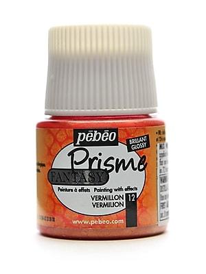 Pebeo Fantasy Prisme Effect Paint vermilion 45 ml [Pack of 3]