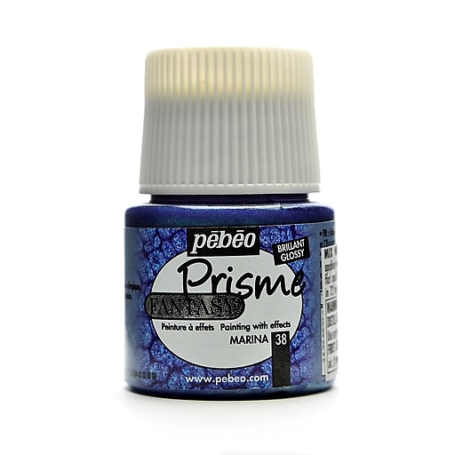 Pebeo Fantasy Prisme Effect Paint marina 45 ml [Pack of 3]