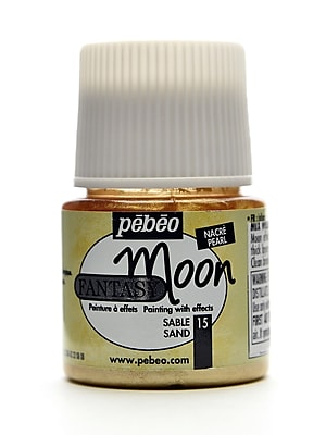 Pebeo Fantasy Moon Effect Paint sand 45 ml [Pack of 3]