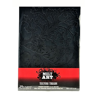 Ranger Melt Art Texture Treads leafy branches [Pack of 2]