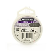 Beadalon Kink Free Ti Titanium Wire 10 Ft. Spool