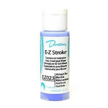 Duncan E-Z Stroke Translucent Underglaze midnight blue 1 oz. [Pack of 4]