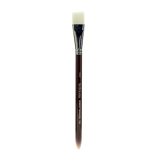 Robert Simmons White Sable Short Handle Brushes 3/4 in. wash 755