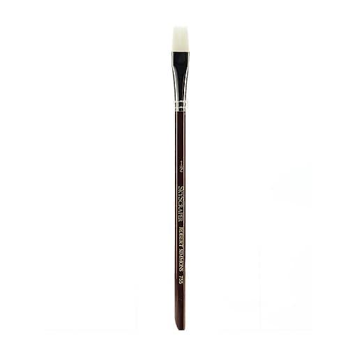 "Robert Simmons White Sable Short Handle Brushes 1/2"" Wash 755 (66303)"