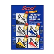 "Saral Transfer (Tracing) Paper Sampler, 5 Sheets, 8 1/2"" X 11"", 2/Pack (74663-Pk2)"
