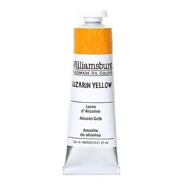 Williamsburg Handmade Oil Colors, Alizarin Yellow, 37ml (2688)