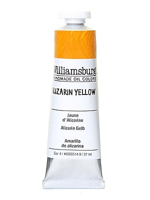 Williamsburg Handmade Oil Colors, Alizarin Yellow, 37ml (2688)