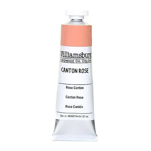 Williamsburg Handmade Oil Colors Canton rose 37 ml