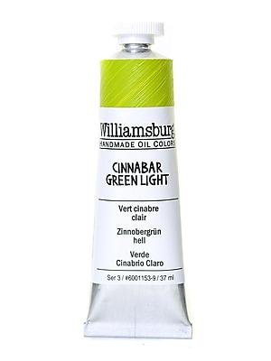 Williamsburg Handmade Oil Colors cinnabar green light 37 ml