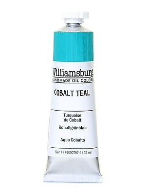 Williamsburg Handmade Oil Colors cobalt teal 37 ml